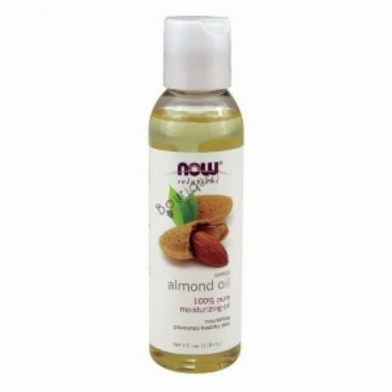 Now Solutions Almond Oil 4 oz