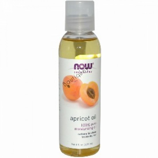 Now Solutions Apricot Oil 4 oz