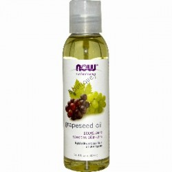 Now Solutions Grapeseed Oil 4 oz
